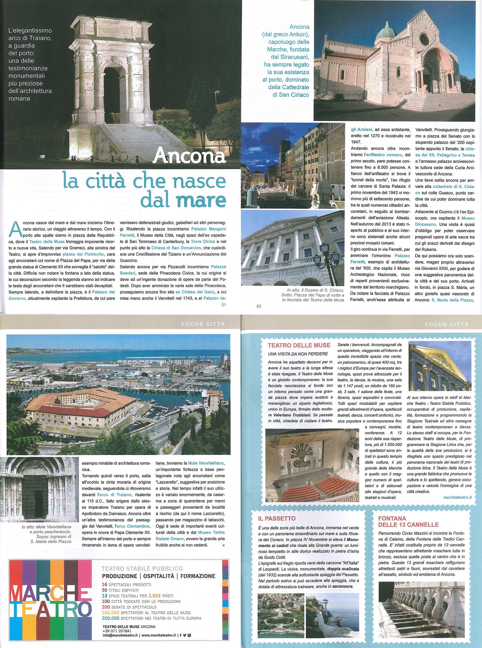 2014.05.28 Ancona la città che nasce dal mare - Destinazione Marche 2014