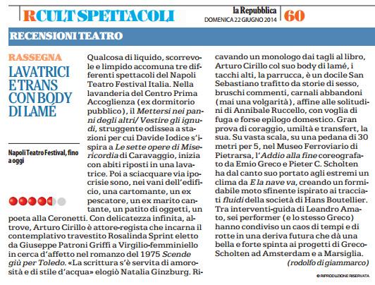 2014.06.22 Lavatrici e trans con body di lamé - La Repubblica