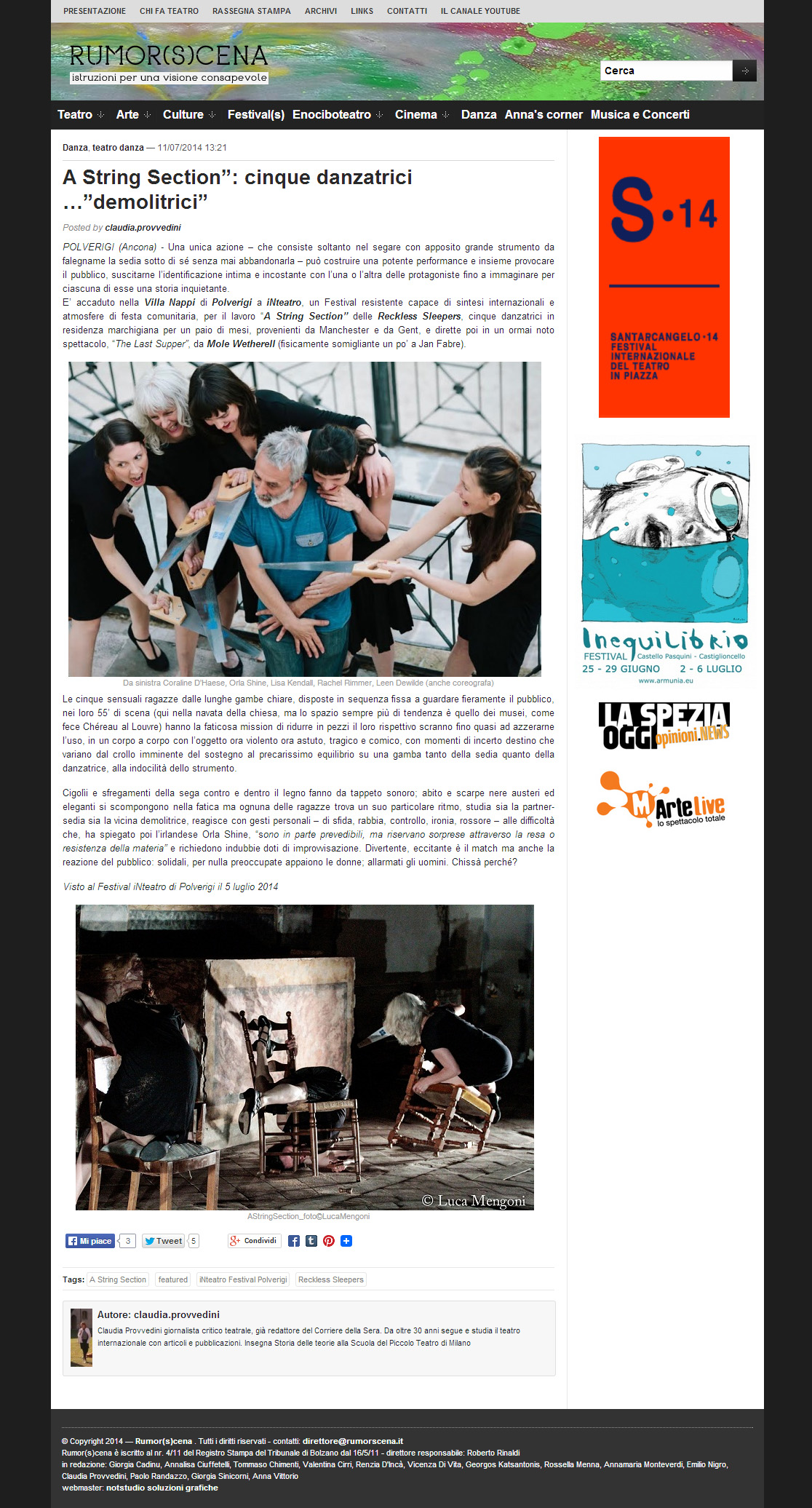 2014.07.11 A String Section cinque danzatrici 'demolitrici' - rumorscena.com