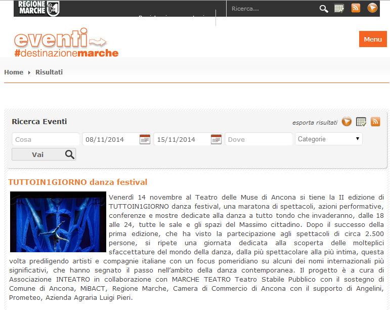 2014.10.29 tuttoin1giorno - eventi-turismo.marche.it