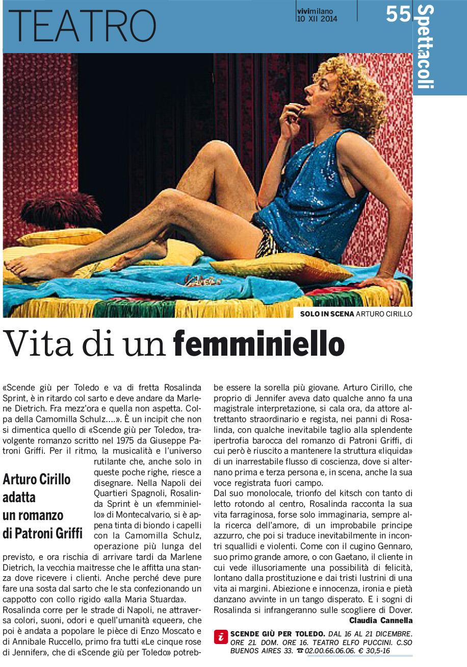2014.12.10 Vita di un femminiello - Vivi Milano