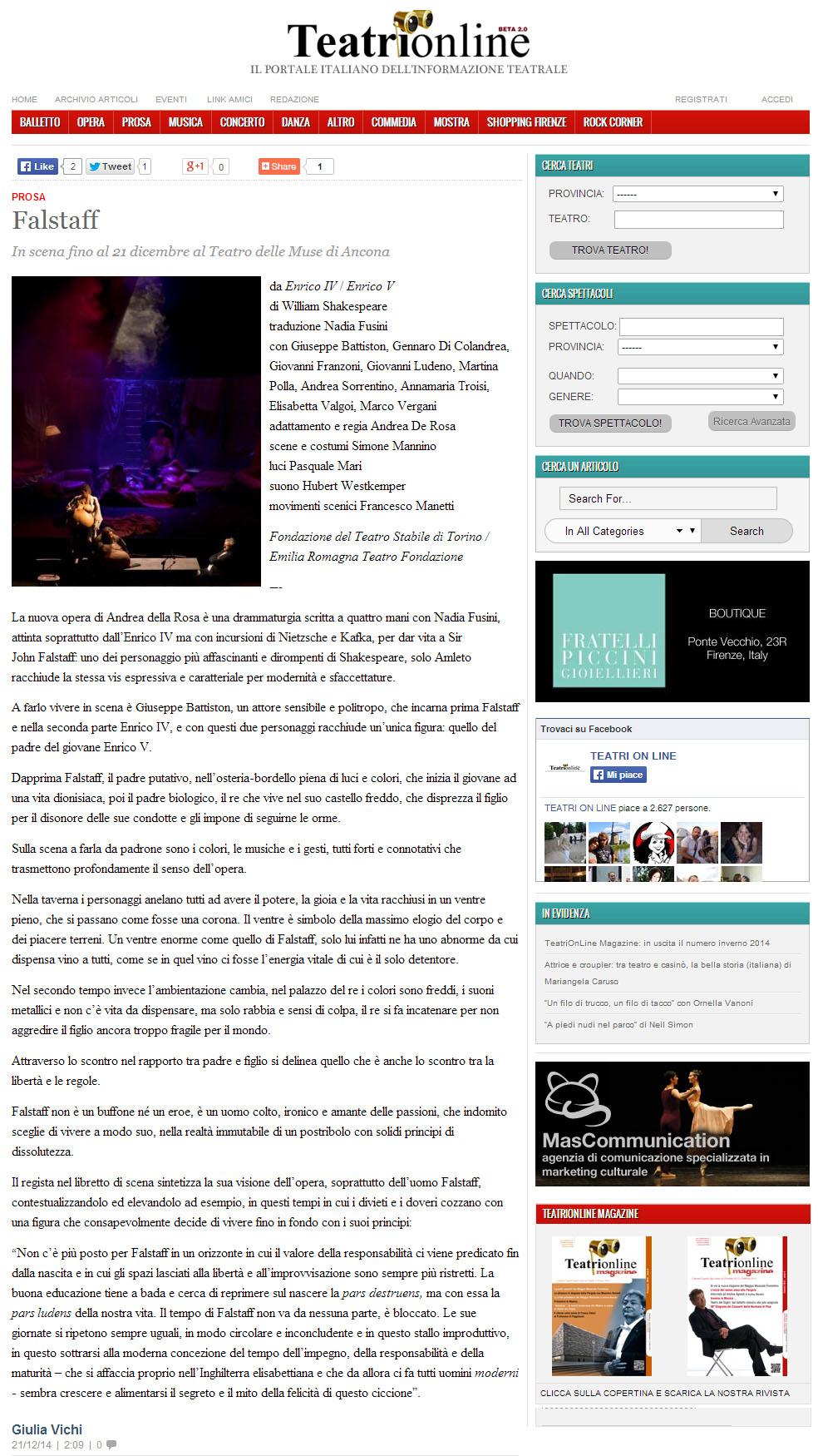 2014.12.21 falstaff - teatrionline.com