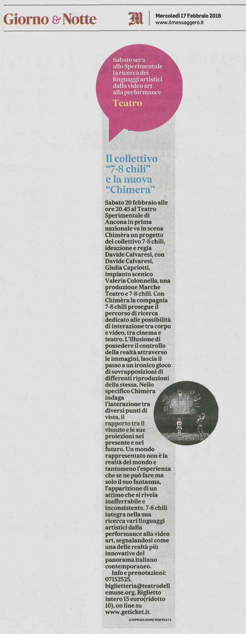 2016.02.17-Il-collettivo-7-8-chili-e-la-nuova-Chimera---Il-Messaggero