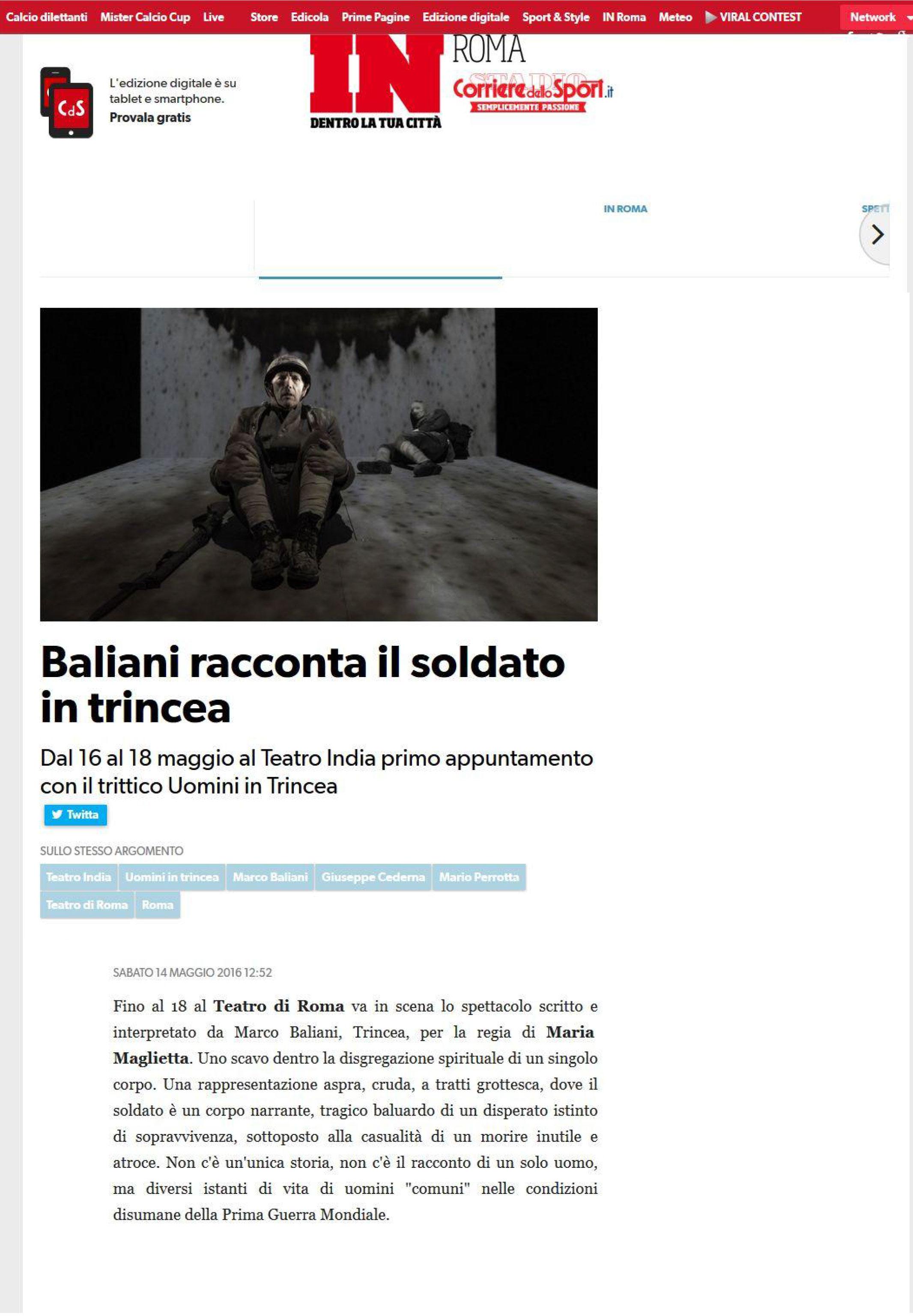 2016_05_14_corriere-dello-sport_Baliani-racconta-il-soldato-in-trincea-1