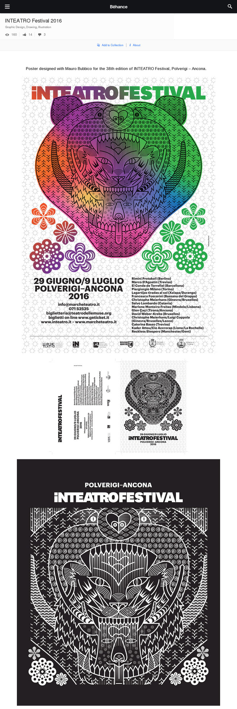 www.behance.INTEATRO-Festival-2016