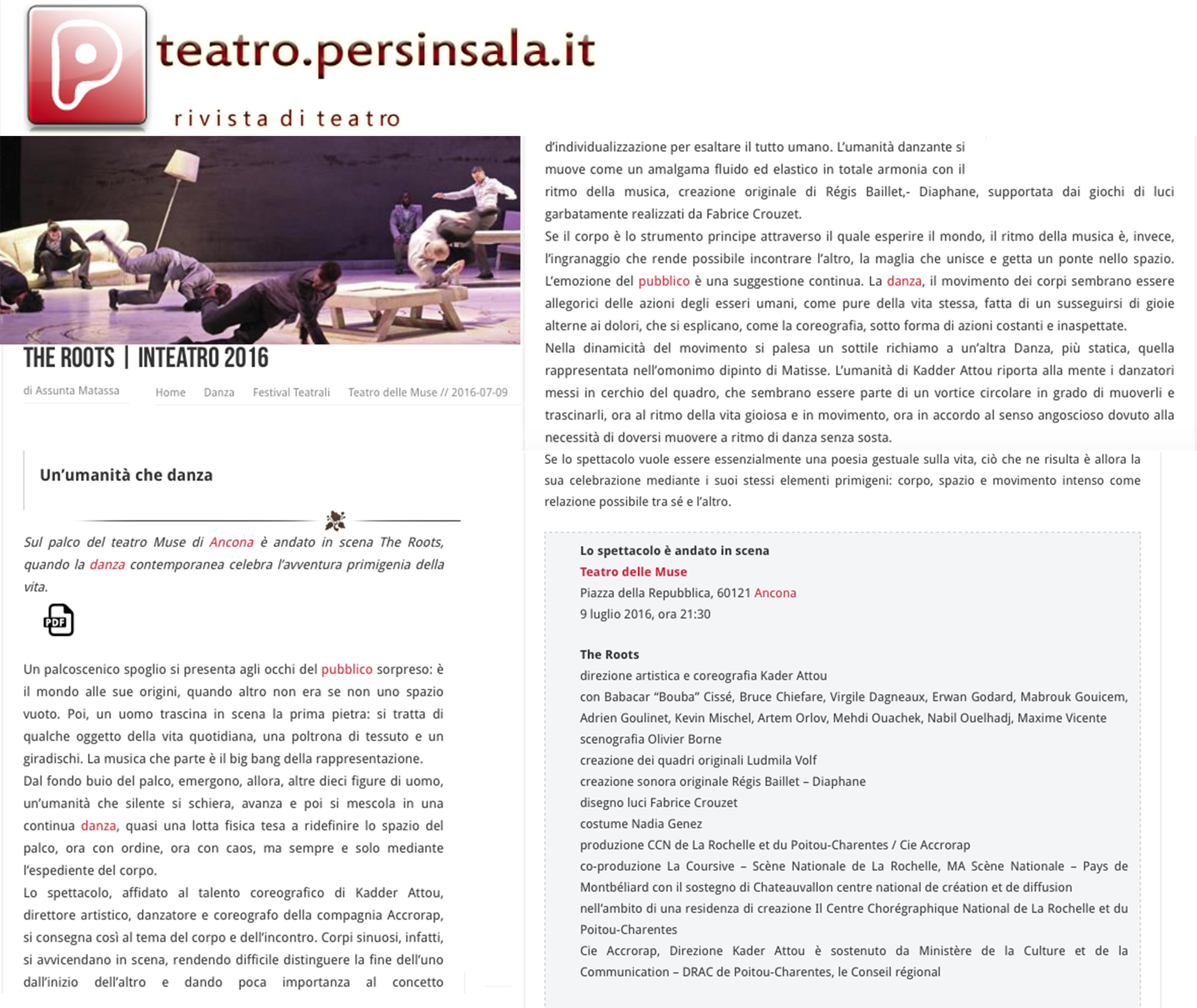 teatro persinsala 9 luglio